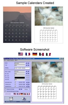Create calendars easily with the free version